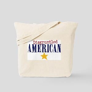 disgruntled American Tote Bag