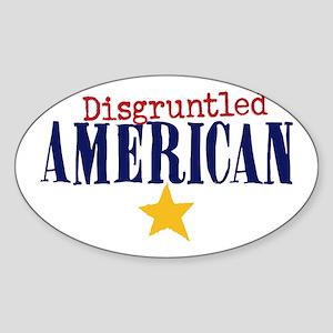 disgruntled American Sticker