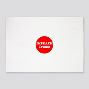 Impeach Trump 5'x7'Area Rug