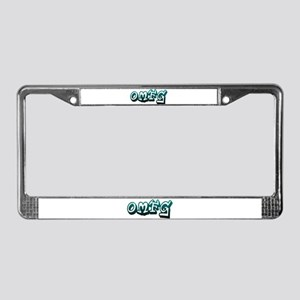 OMFG License Plate Frame