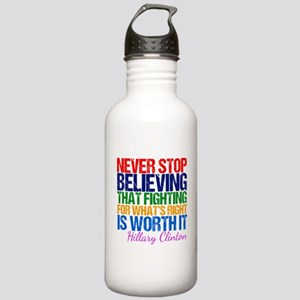 Hillary Motivational F Stainless Water Bottle 1.0L