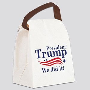 We Did It! Canvas Lunch Bag