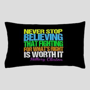 Hillary Motivational Pillow Case