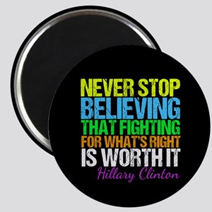 Hillary Motivational Fight Magnet