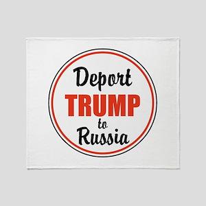 Deport Trump to Russia Throw Blanket