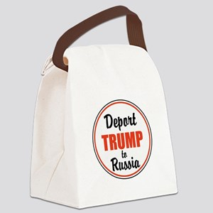 Deport Trump to Russia Canvas Lunch Bag