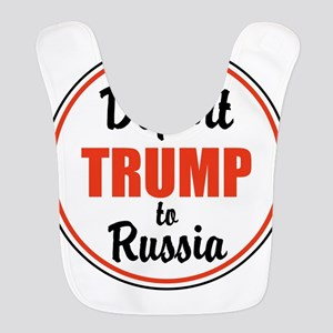 Deport Trump to Russia Polyester Baby Bib
