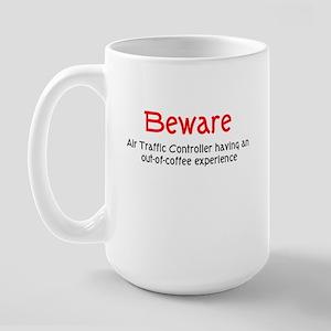 Air Traffice Controller Large Mug