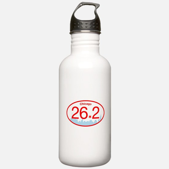 Chicago Marathon Brigh Water Bottle