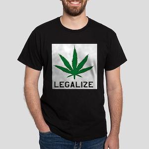 Legalize Marijuana Ash Grey T-Shirt