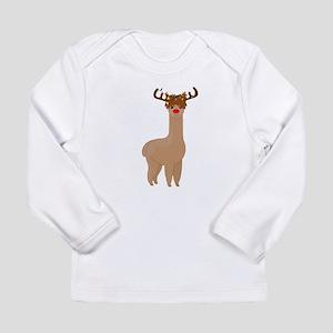 Christmas Llama Long Sleeve T-Shirt