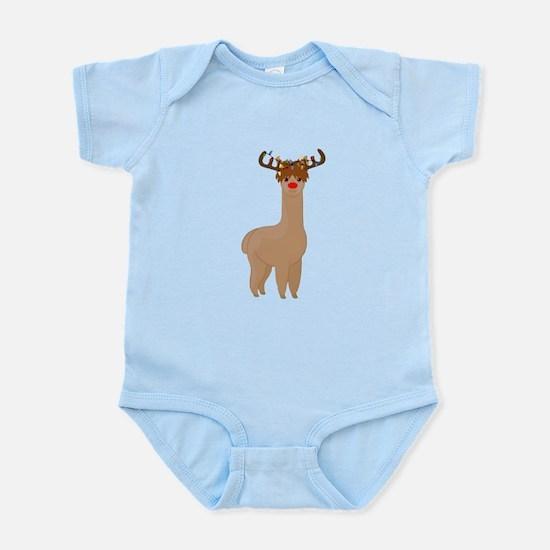 Christmas Llama Body Suit