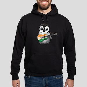 Baby Penguin Playing Indian Flag Guitar Sweatshirt