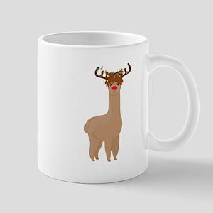 Christmas Llama Mugs