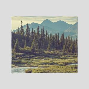 Mountain Meadow Throw Blanket