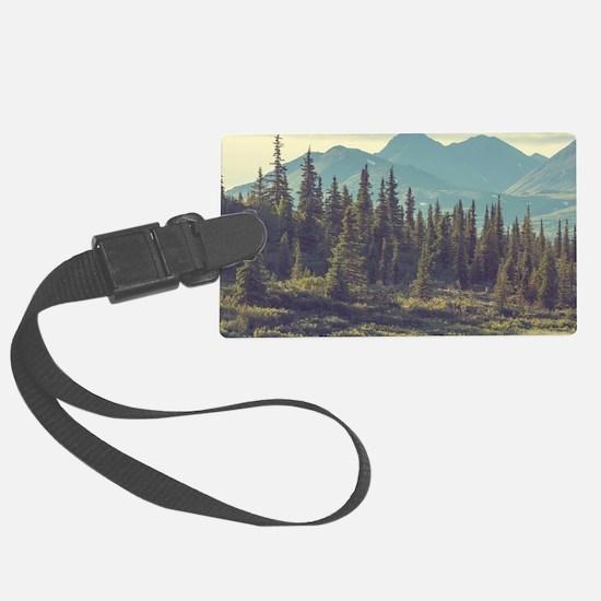 Mountain Meadow Luggage Tag