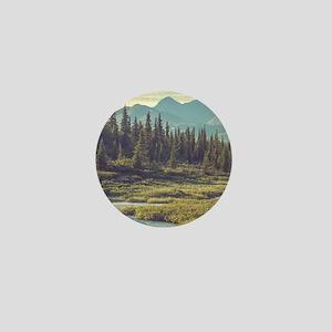 Mountain Meadow Mini Button