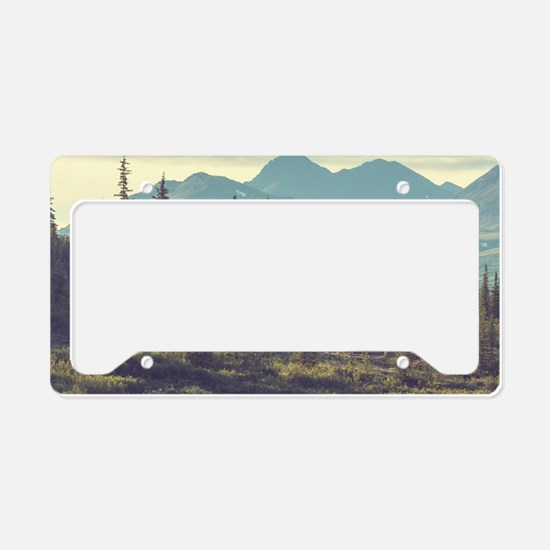 Mountain Meadow License Plate Holder