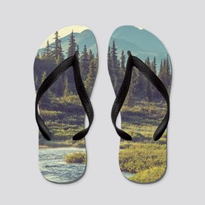 Mountain Meadow Flip Flops