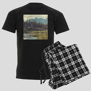 Mountain Meadow Men's Dark Pajamas