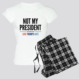 Not My President Women's Light Pajamas