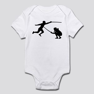Fencing fencer Infant Bodysuit