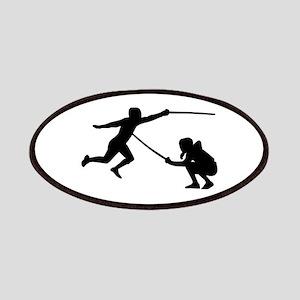 Fencing fencer Patch