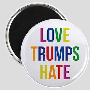GLBT Love Trumps Hate Magnets