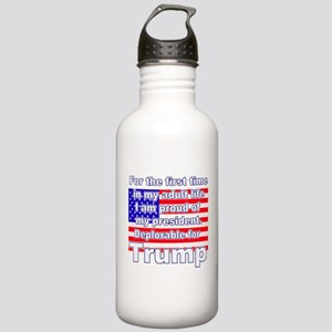 Deplorable for Trump Stainless Water Bottle 1.0L