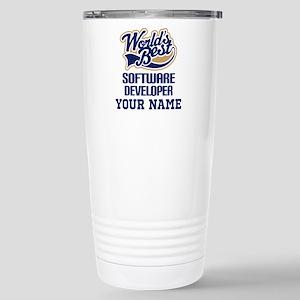Software Developer Personalized Gift Travel Mug