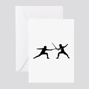 Fencing Greeting Cards (Pk of 20)