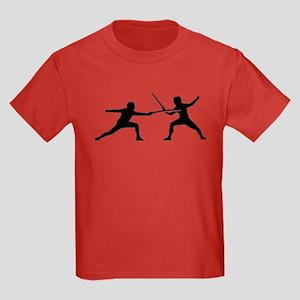 Fencing Kids Dark T-Shirt
