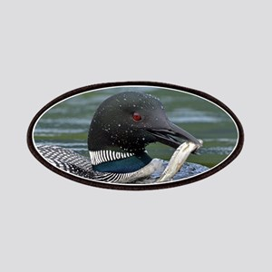 Loon With Fish Patch
