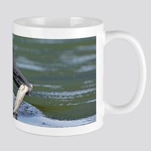 loon with fish Mugs