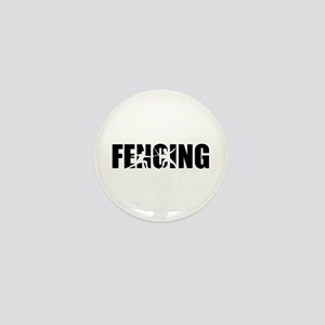 Fencing Mini Button