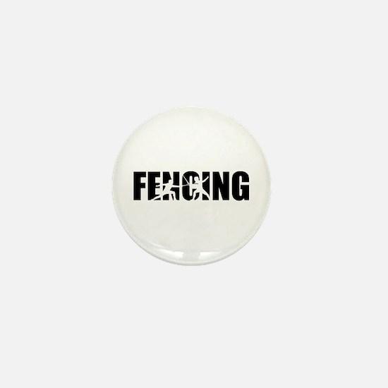 Fencing Mini Button