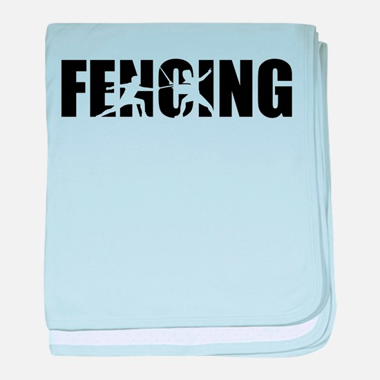 Fencing baby blanket