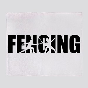 Fencing Throw Blanket