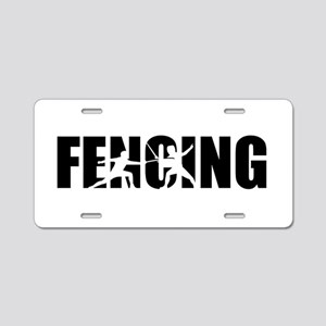 Fencing Aluminum License Plate