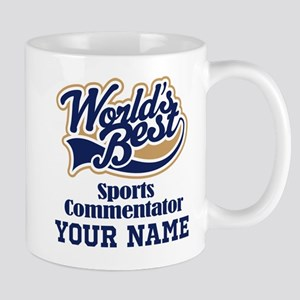 Sports Commentator Personalized Gift Mugs