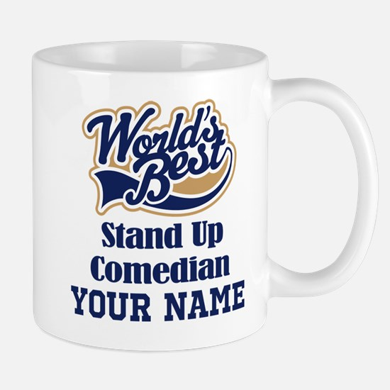 Stand Up Comedian Personalized Gift Mugs