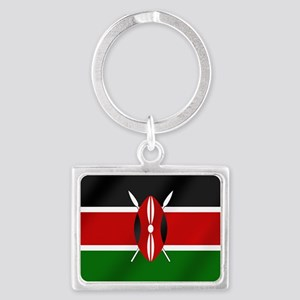 Flag of Kenya Keychains
