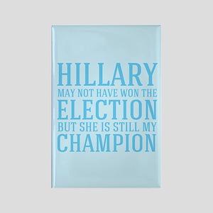 Champion Hillary Rectangle Magnet