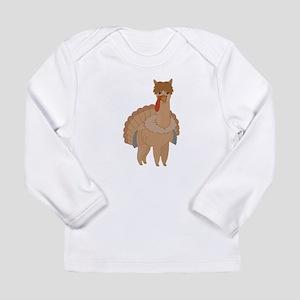 Thanksgiving Llama Long Sleeve T-Shirt