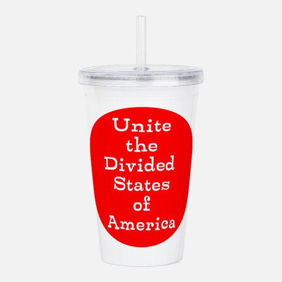 Unite the divided States of America Acrylic Double