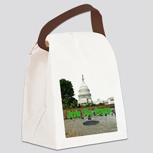 Drain The Swamp Canvas Lunch Bag