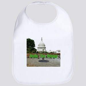 Drain The Swamp Baby Bib