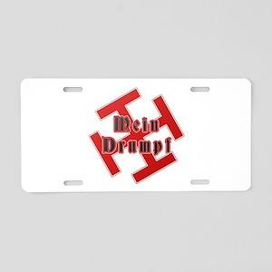 Mein Drumpf Aluminum License Plate
