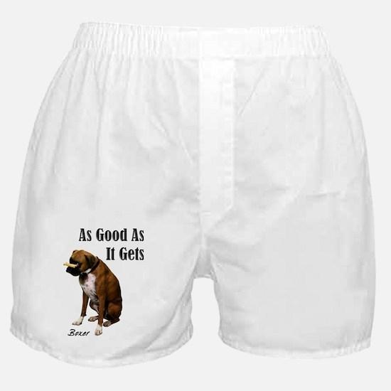 Good Boxer Dog Boxer Shorts