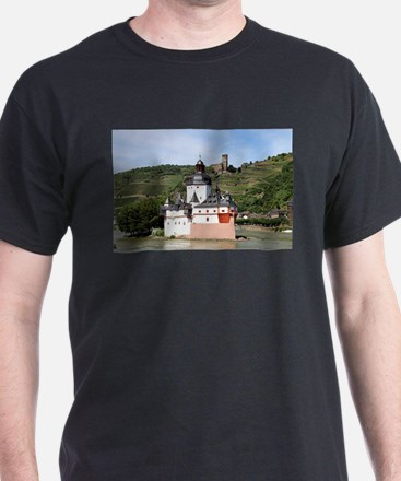 Pfalzgrafenstein Castle, Rhine River, Germ T-Shirt